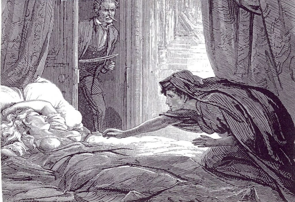 Illustration from Carmilla