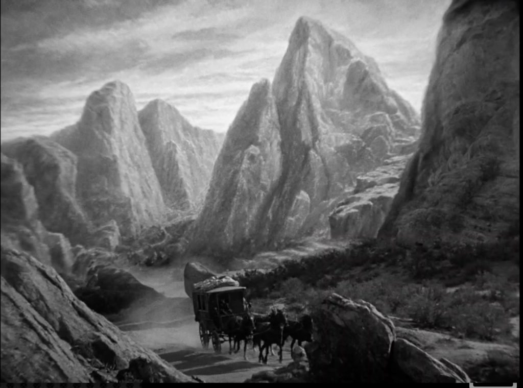 Nearing the Borgo Pass. Tod Browning's Dracula.