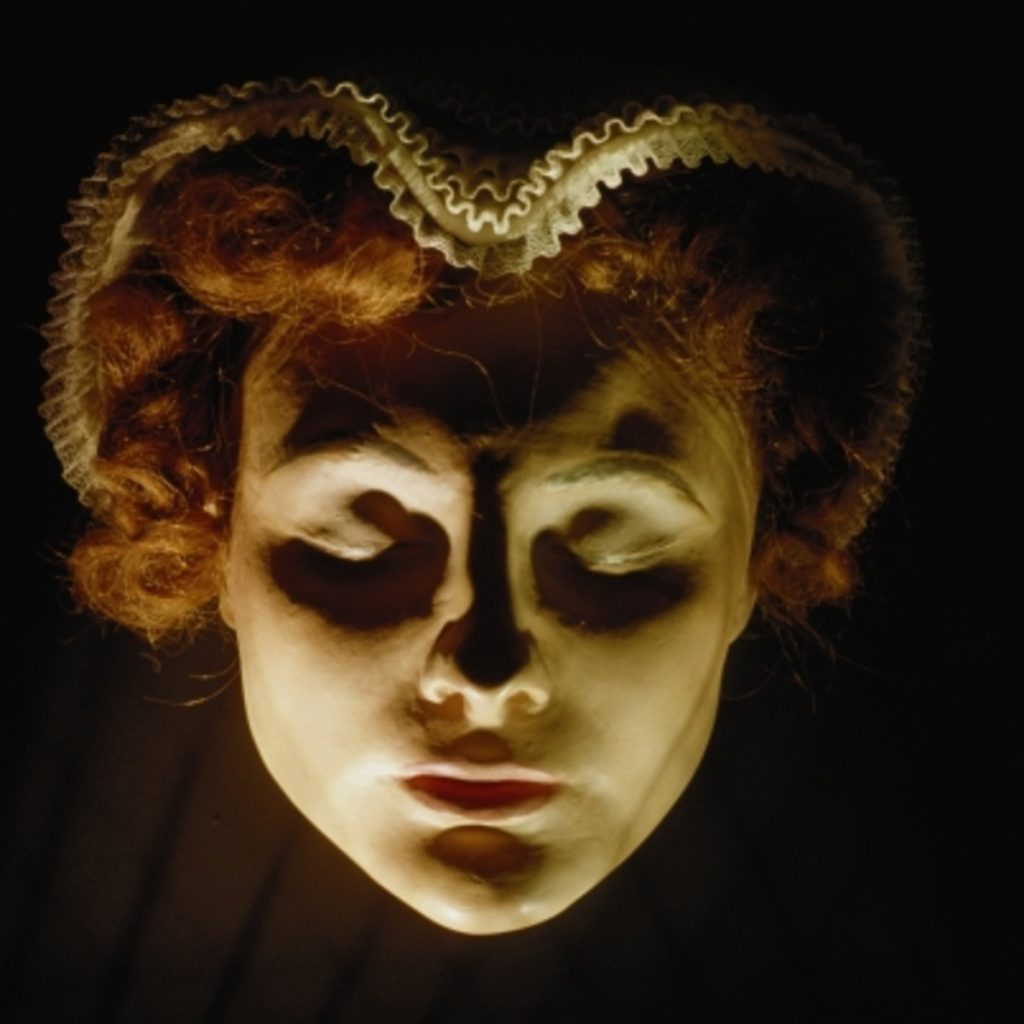 Death Mask of Mary Stuart.