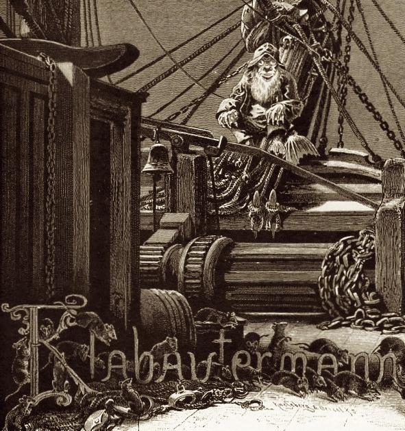Klabautermann from Buch Zur See, 1885.