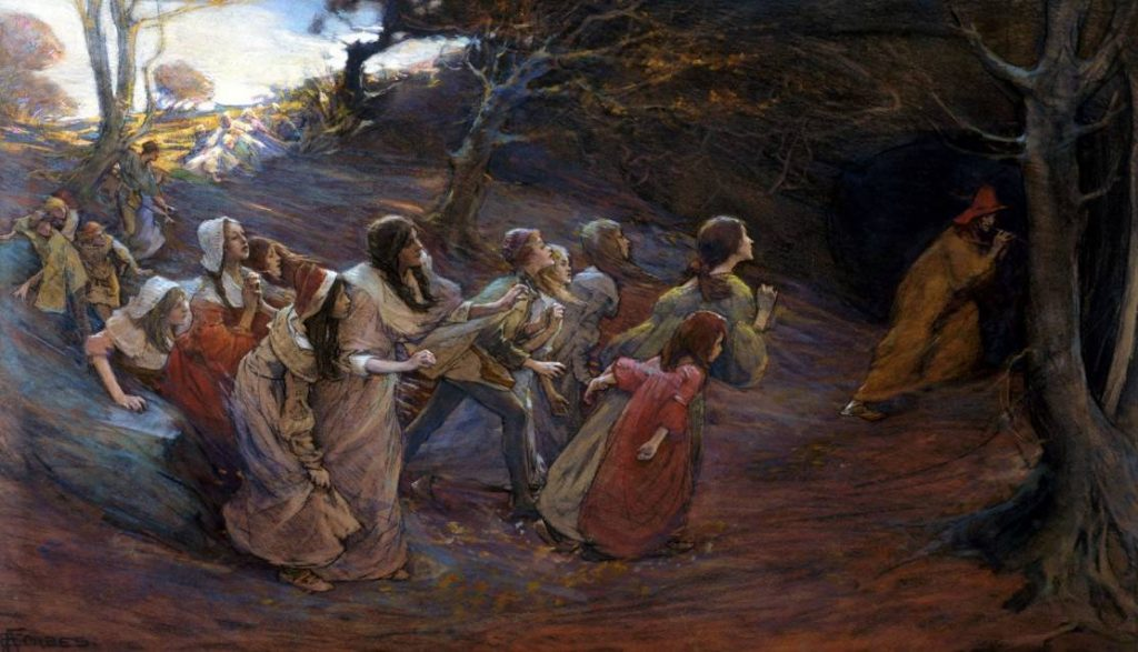 """The Pied Piper Of Hamelin"" by Elizabeth Adela Stanhope Forbes"