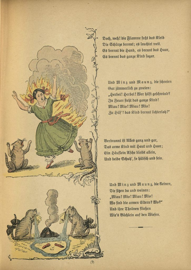"Struwwelpeter: ""The Dreadful Story of Pauline and the Matches."