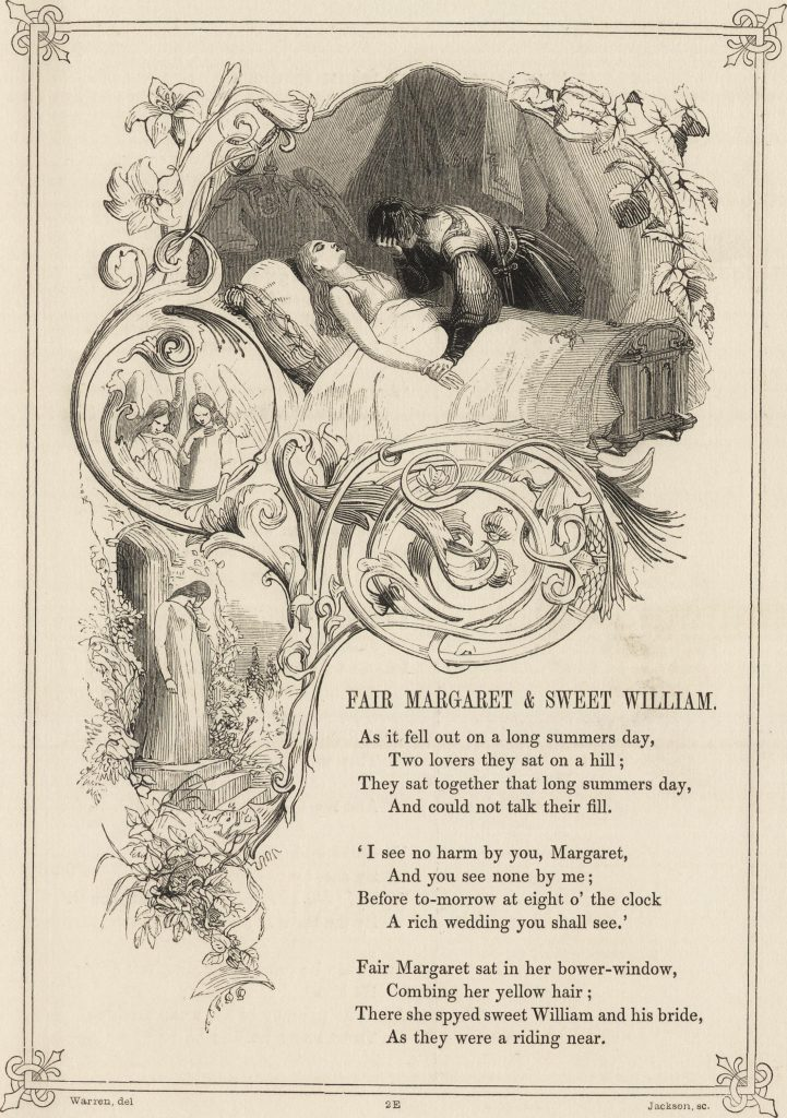 From The Book of British Ballads (1842)
