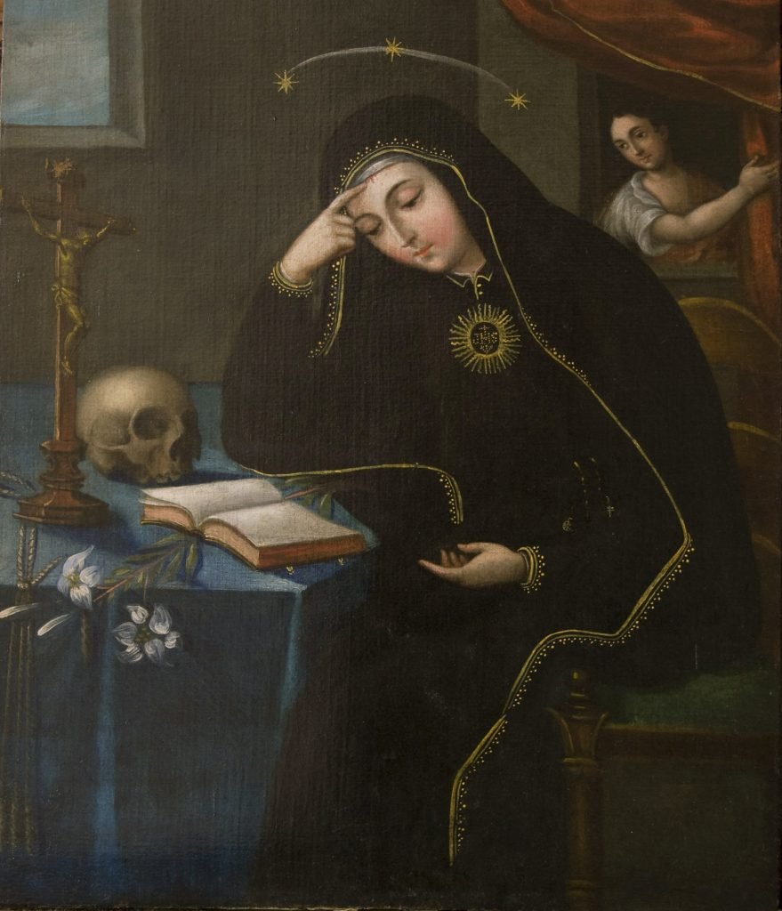 St. Rita of Cascia 18th-century, artist unknown.
