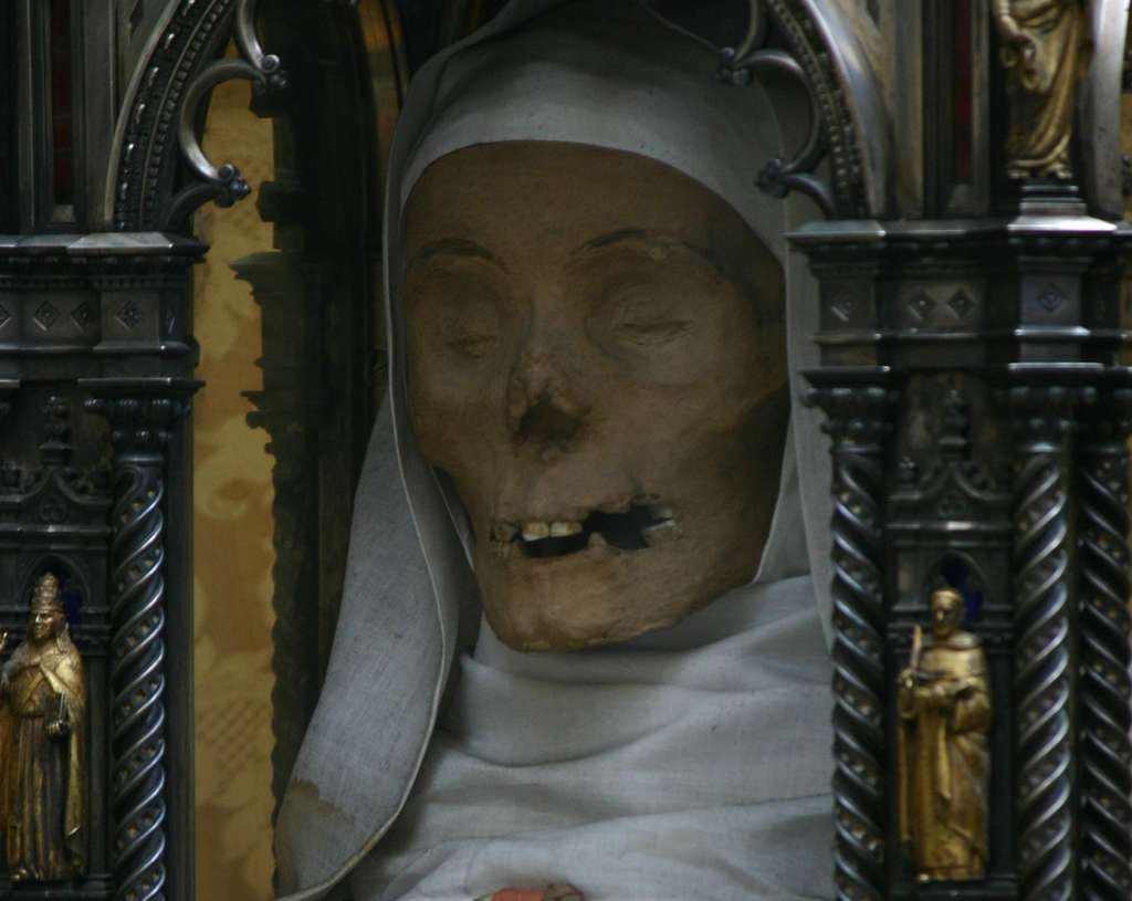 Head of St. Catherine of Siena