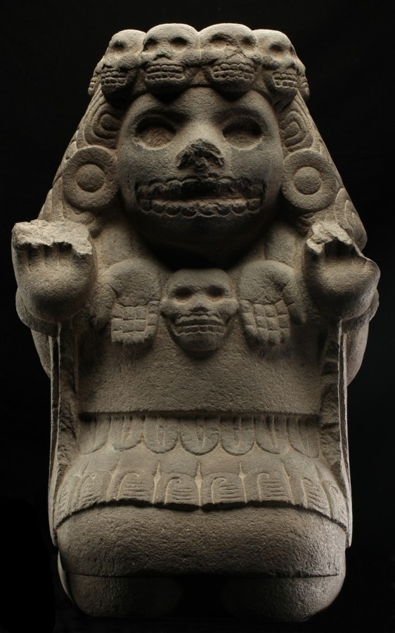Cihuateteo sculpture