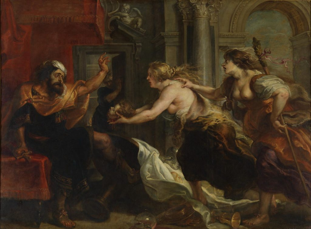 "Peter Paul Rubens ""Tereus Confronted with the Head of his Son Itys,"" 1637"