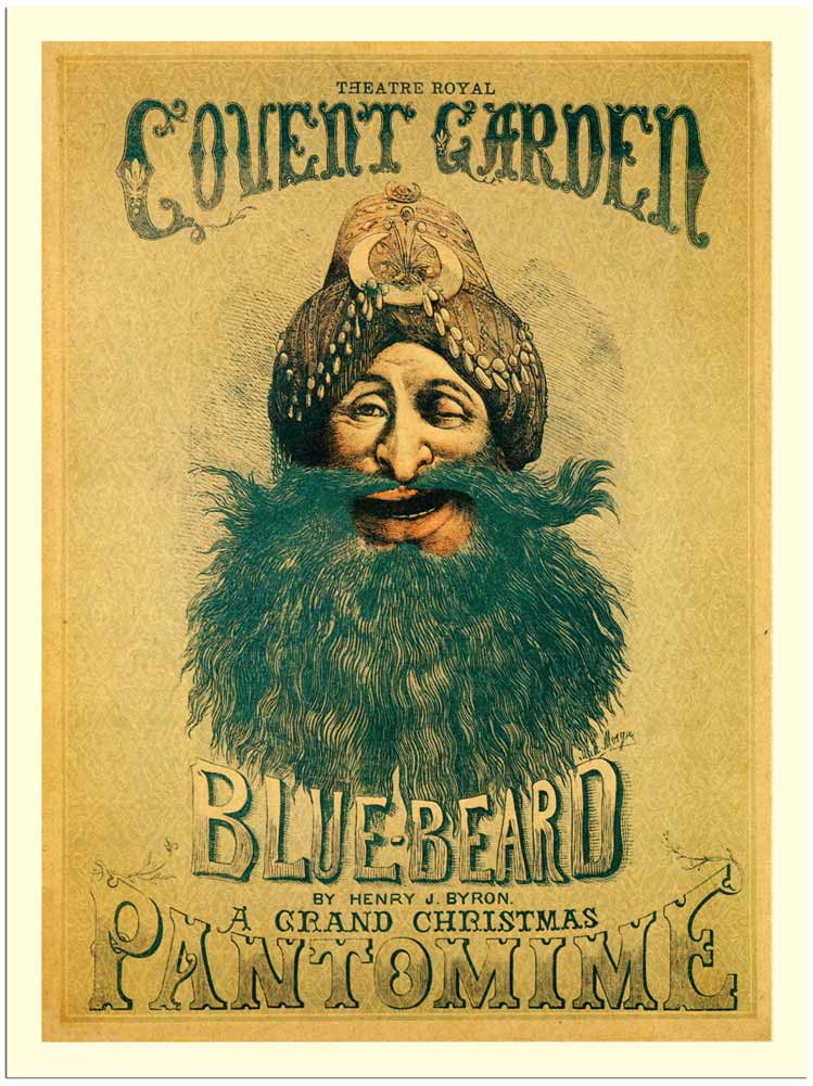 1870s poster for Covent Garden pantomime