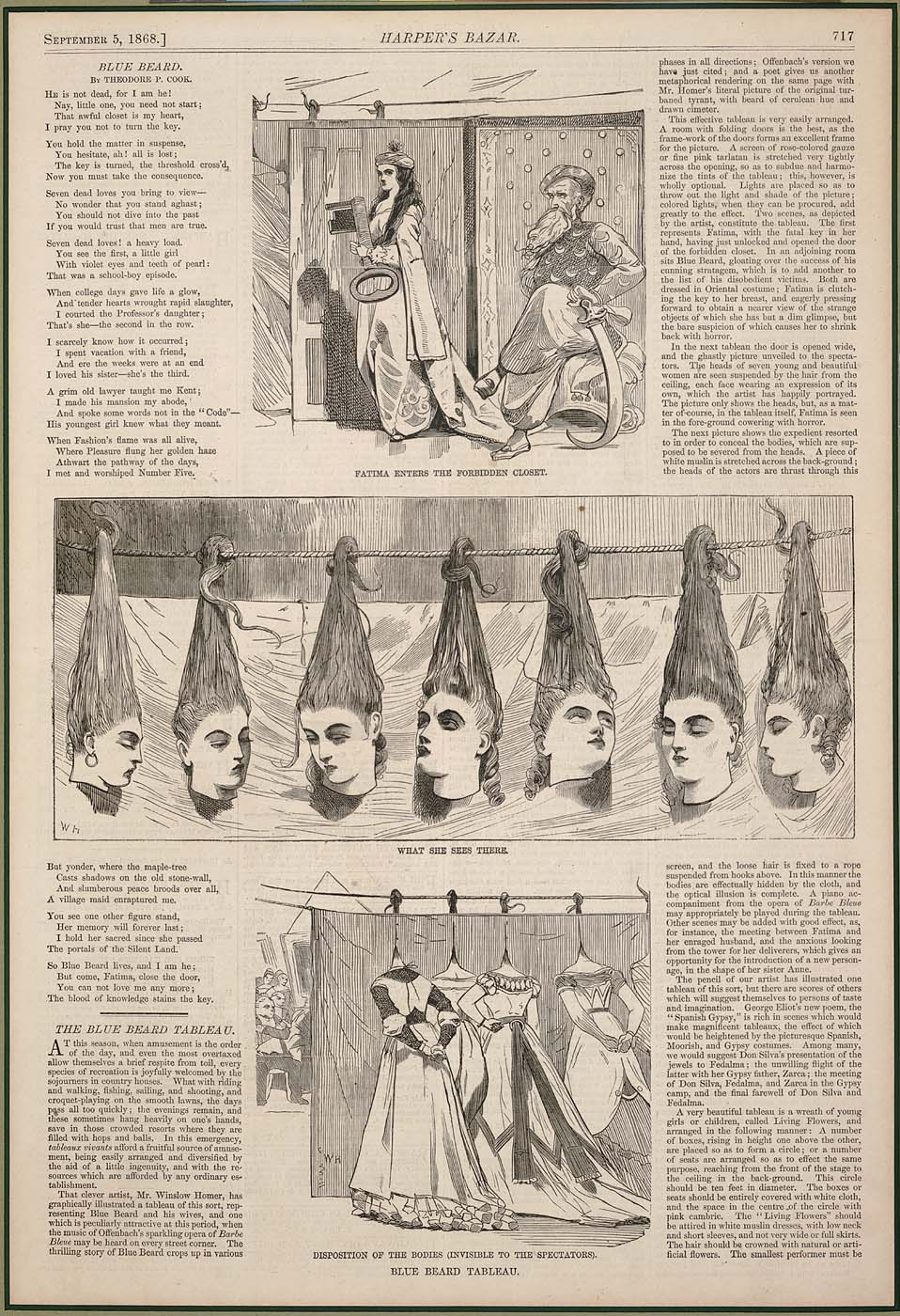 1868 Harper's magazine article w/ illustrations by Winslow Homer.