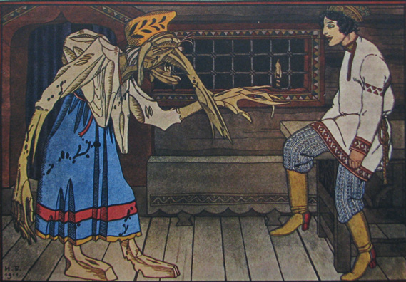 Illustration by Ivan Bilibin, 1911