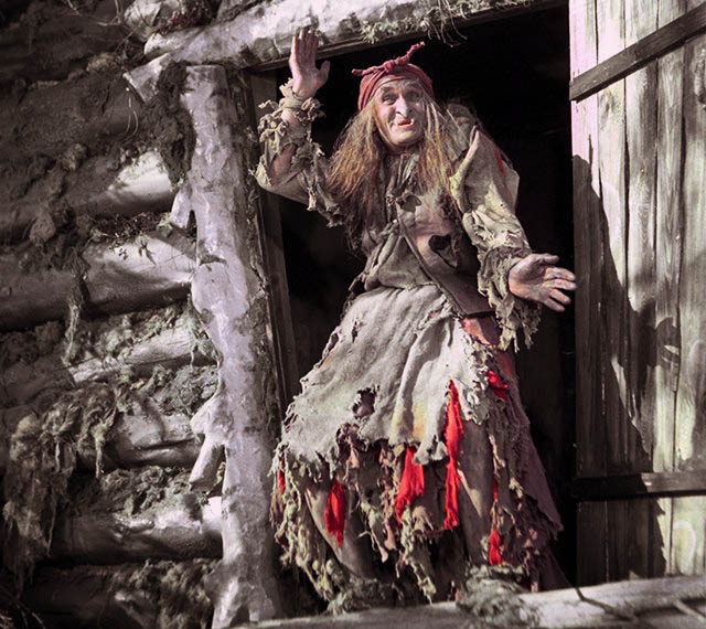 Millyar as the Baba Yaga