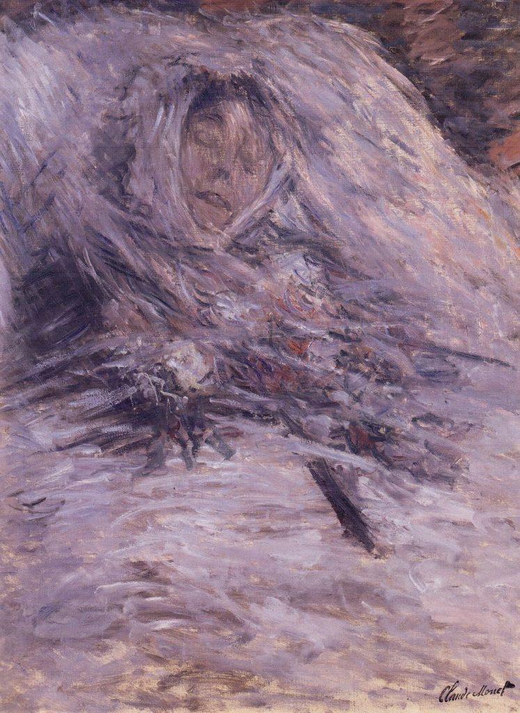 "Monet's ""Camille Monet on her deathbed"""