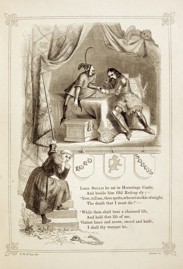 """Bad Lord Souls"" from The Book of British Ballads, Samuel Carter Hall, 1849"