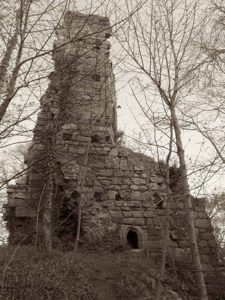"Ruins of ""Goblin Hall,"" Yester Castle"