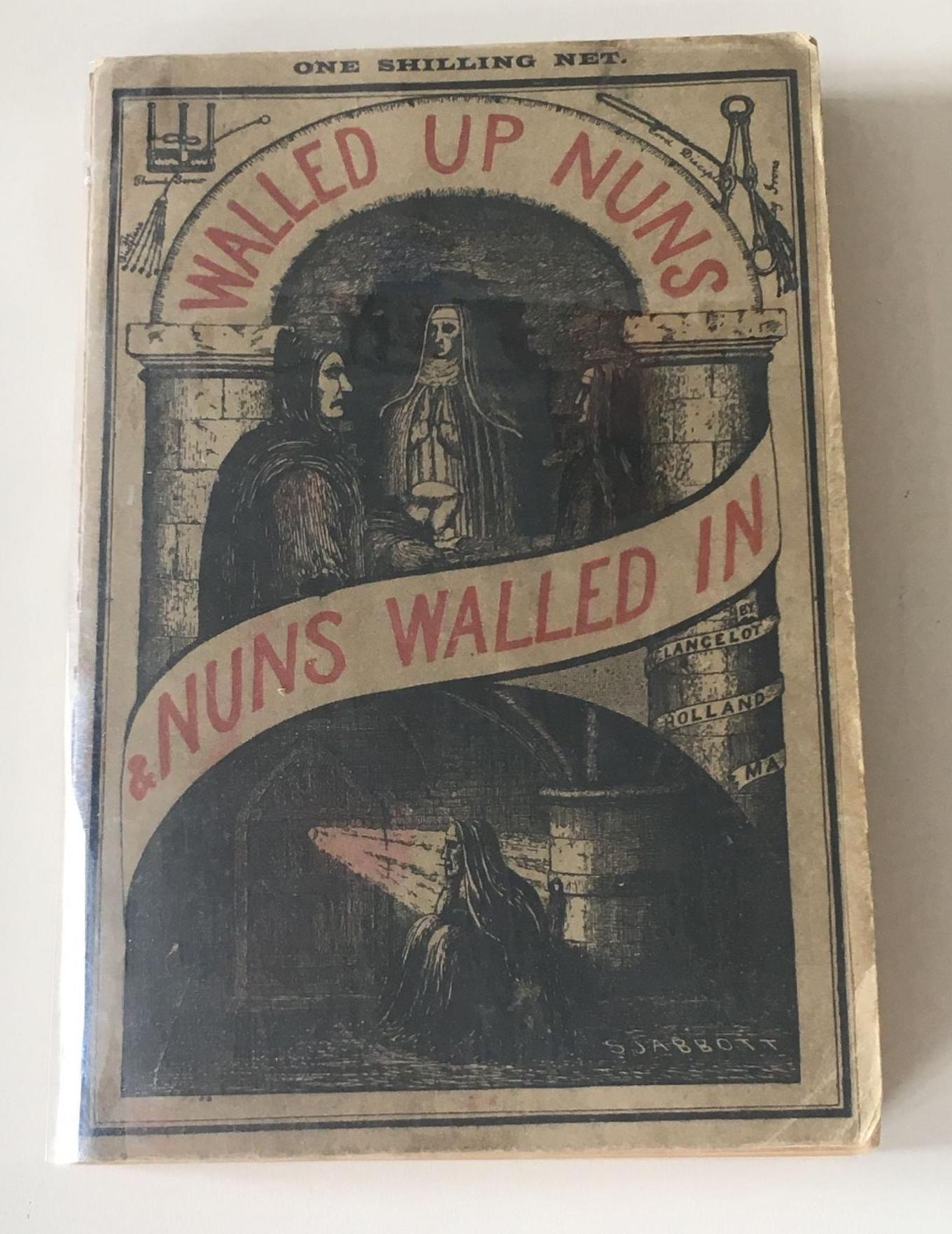 Walled up Nuns book