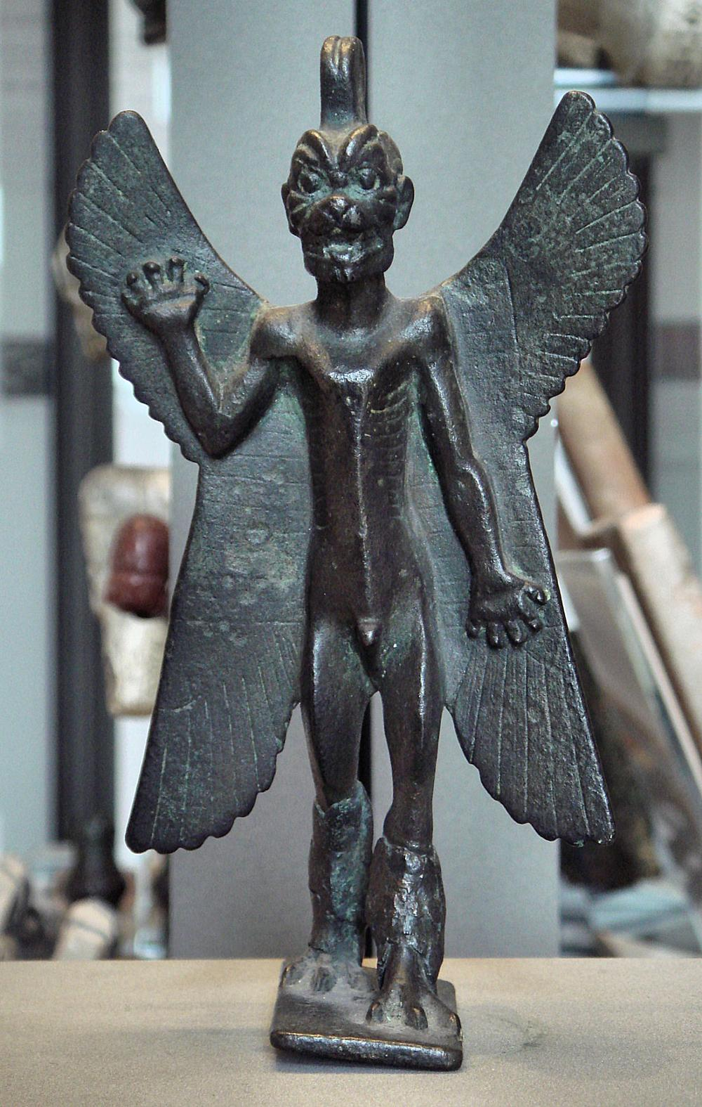 Pazuzu figurine in Louvre.