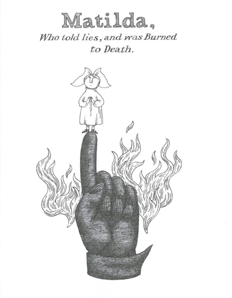 Gorey illustration